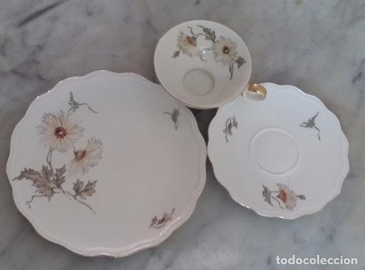 Antigüedades: Trío té en porcelana Bavaria – de colección - Foto 5 - 92887480