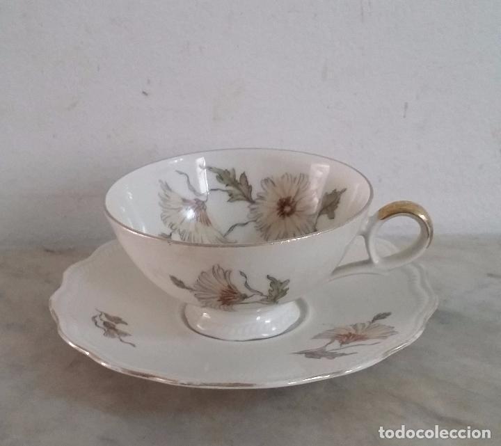 Antigüedades: Trío té en porcelana Bavaria – de colección - Foto 6 - 92887480