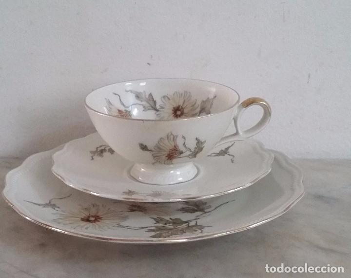 Antigüedades: Trío té en porcelana Bavaria – de colección - Foto 7 - 92887480