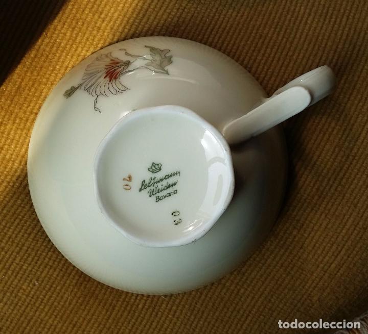 Antigüedades: Trío té en porcelana Bavaria – de colección - Foto 8 - 92887480