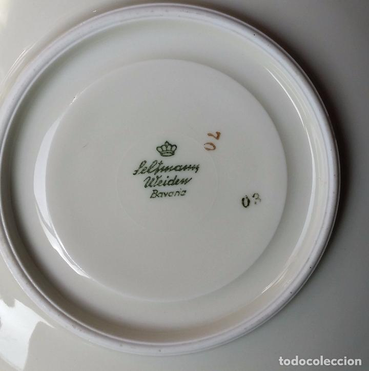 Antigüedades: Trío té en porcelana Bavaria – de colección - Foto 9 - 92887480