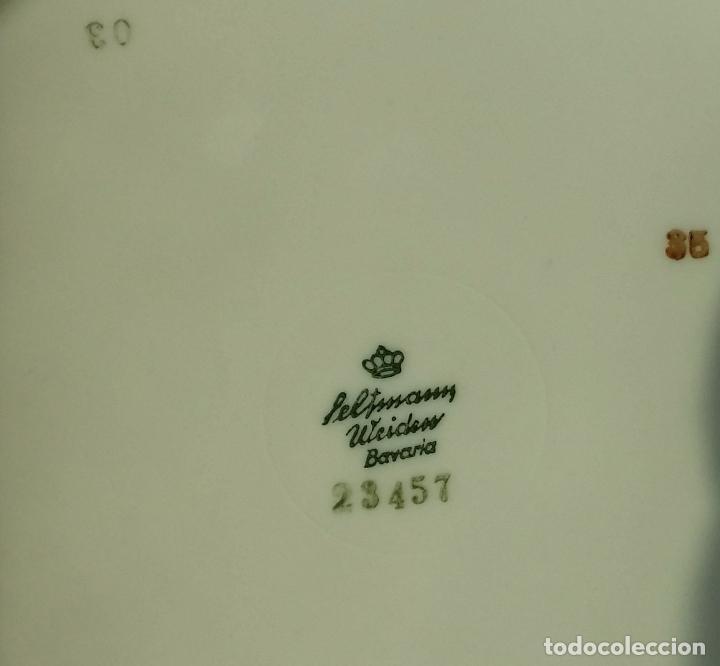 Antigüedades: Trío té en porcelana Bavaria – de colección - Foto 10 - 92887480