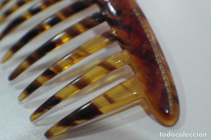 Antigüedades: Peineta antigua - Foto 3 - 92890445