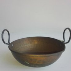 Antigüedades: CALDERITA DE COBRE. Lote 92894570