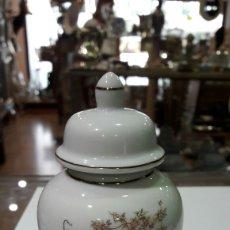 Antigüedades - Tibor antiguo decorado a mano Satsuma auténtico Japan - 92899832