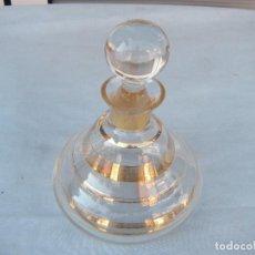 Antigüedades: BOTELLA FRASCO DE TOCADOR. Lote 92919070