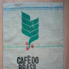 Antigüedades: SACO DE CAFÉ DO BRASIL CON TELA ARPILLERA.. Lote 92971985