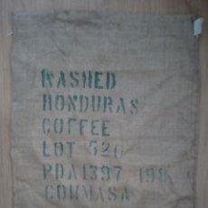 Antigüedades: SACO CAFÉ DE HONDURAS EN TELA ARPILLERA.. Lote 92972785