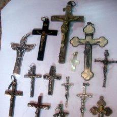 Antigüedades: LOTE DE CRUCES ANTIGUAS. CA3. Lote 92973940