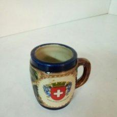 Antigüedades: TAZA DE CAFÉ SWITZERLAND. Lote 92994919