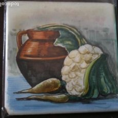 Antigüedades: AZULEJO PINTADO A MANO-GAYA-ALCORA. Lote 93000190