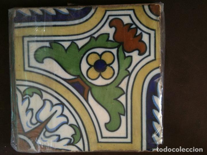 AZULEJO -ALCORA (Antigüedades - Porcelanas y Cerámicas - Alcora)