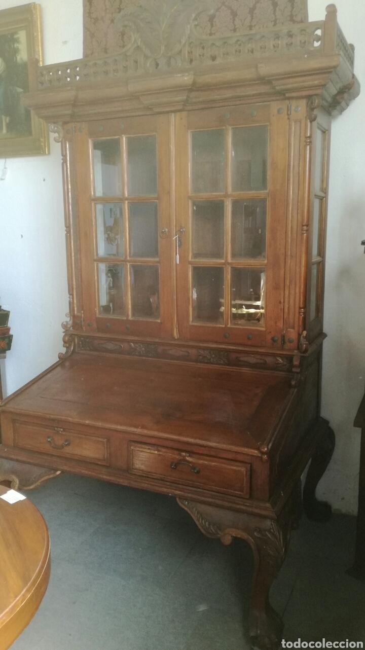 MUEBLE LIBRERIA (Antigüedades - Muebles Antiguos - Escritorios Antiguos)