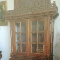 Antigüedades: MUEBLE LIBRERIA. Lote 93019825