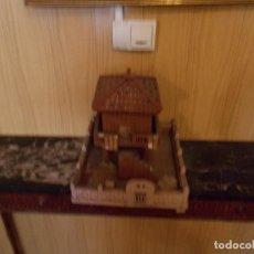 Antigüedades: ANTIGUO HORREO ARTESANO ,ENTERO DE MADERA ,ES DE LOS AÑOS50,. Lote 93022285