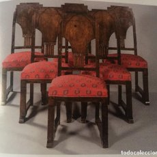 Antiquitäten - Seis sillas Art Decó (1920) - 93050710