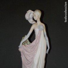 Antiquitäten - figura de porcelana Dama art deco LLadro - 93060190