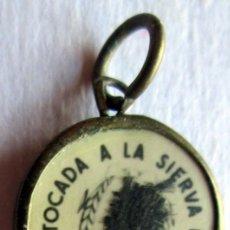 Oggetti Antichi: RELICARIO DE M.RAFAELA Mª--FUNADORA DE A.C.L.- 15 MM. Lote 93065815