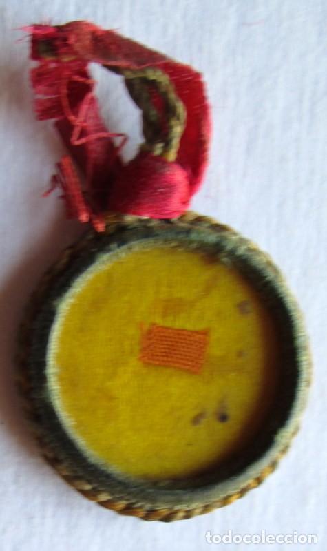 RELICARIO ANTIGUO- 25 MM (Antigüedades - Religiosas - Medallas Antiguas)