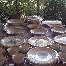 Antigüedades: PRECIOSA VAJILLA DE LIMOGES, ESCENAS ORIENTALES. Lote 93101500