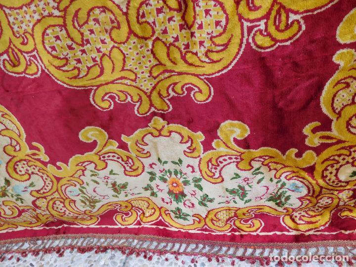 Antigüedades: alfombras de terciopelo, comprada en un zoco marroquí en 1956. Ideales para enmarcar. - Foto 2 - 97322823
