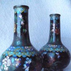 Antigüedades: JARRONES CLOSONIE-SIGLO 19. Lote 93144905