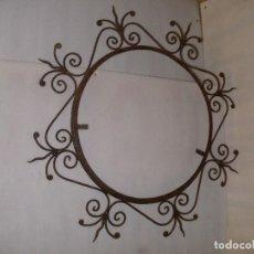 Antigüedades: MARCO DE HIERRO AÑOS 70. Lote 93154285