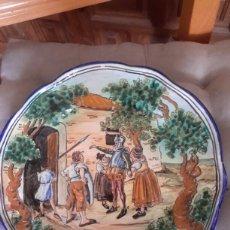 Antigüedades: CERAMICA ANTIGUA DE TALAVERA FIRMADO POR NIVEIRO . Lote 93168424