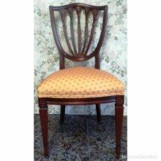 Antigüedades: SILLA MODELO INTERVITE NOGAL. Lote 93183030