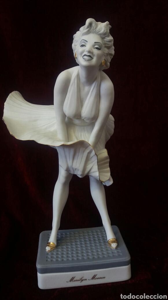 FIGURA PORCELANA ALGORA MARILYN MONROE (Antigüedades - Porcelanas y Cerámicas - Algora)