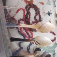 Antigüedades: LOTE DE 4 CUCHARAS DE ASTA . Lote 93250734