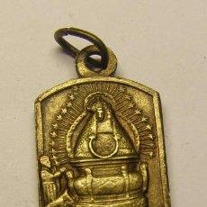 Antigüedades: MEDALLA RELIGIOSA DE VIRGEN, FINALES SIGLO XIX, PRINCIPIOS SIGLO XX.. Lote 93262840