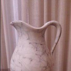 Antigüedades: JARRA PORCELANA SARREGUEMINES. Lote 93264325