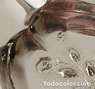 Antigüedades: CENICERO DE PLATA DE LEY CONTRASTADA. 15,5 GRAMOS. 7 X 7 CM. VER FOTOS Y DESCRIPCION - Foto 7 - 93304535