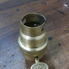 Antigüedades: PORTA LAMPARAS EN BRONCE S.XIX (VER FOTOS). Lote 93315030