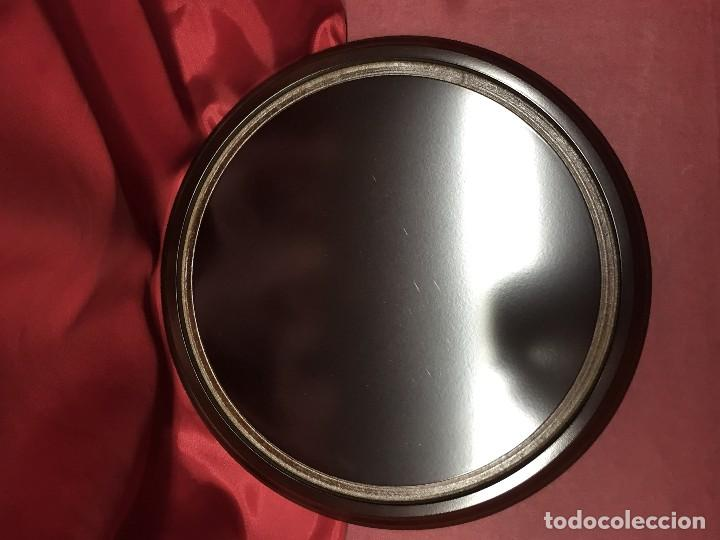 Antigüedades: Fanal altura 20 cm x 12 diam Urna campana Cristal para reloj virgen santos religiosos y antigüedades - Foto 2 - 154603010