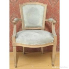 Antigüedades: SILLON DESPACHO INGLES. Lote 101735356