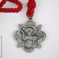 Antigüedades: MEDALLA RELIGIOSA CONFRARÍA / COFRADÍA SANT MARC EVANGELISTA. BARCELONA DESDE 1202 - SAN MARCOS. Lote 93348440