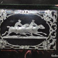 Antigüedades: CARNET DE BAILE DE TEMA HIPICA , CABALLOS , SOUVENIR S. XIX . Lote 93353040