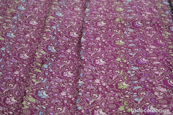 Antigüedades: Corte de seda pura - Foto 3 - 93387920