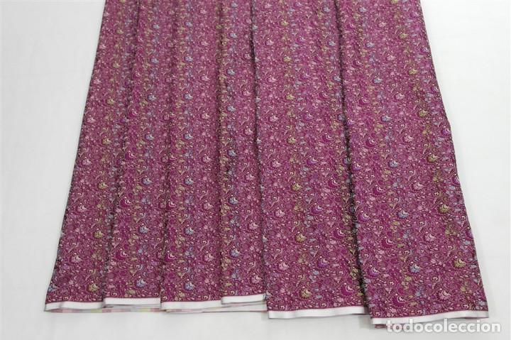 Antigüedades: Corte de seda pura - Foto 4 - 93387920
