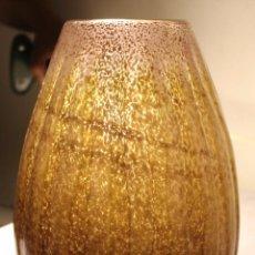 Antigüedades: JARRÓN ART DECÓ EN CRISTAL SOPLADO. Lote 93400940