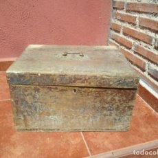 Antigüedades - ARQUETA EN MADERA DE CHOPO SIGLO XVIII - 93410000