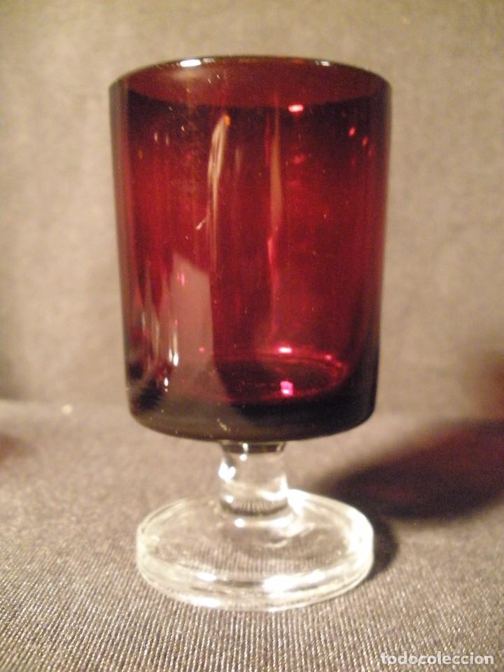 Antigüedades: copas de jerez juego de 6- - Foto 2 - 93536145