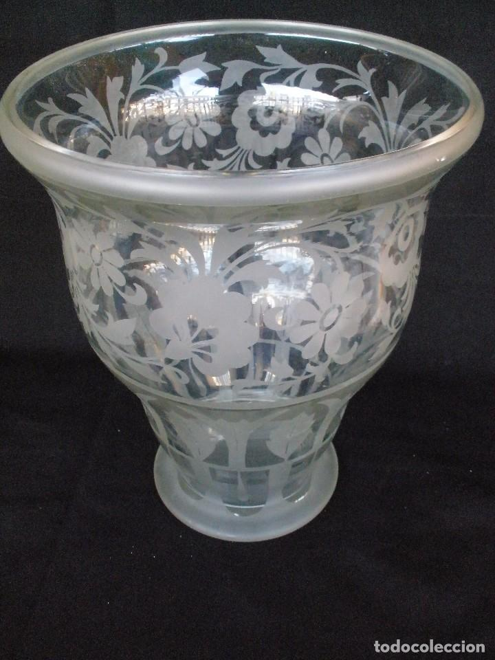 PAREJA DE JARRONES- (Antigüedades - Cristal y Vidrio - Murano)