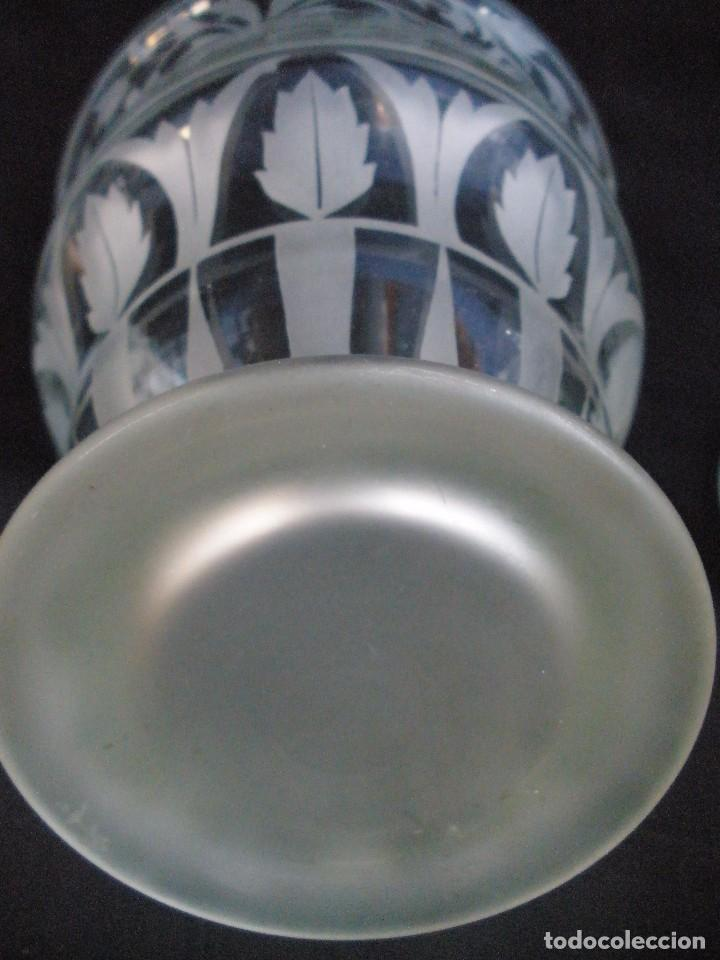 Antigüedades: pareja de jarrones- - Foto 5 - 93558740
