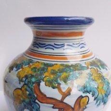 Antigüedades: ORZA CERAMICA DE TALAVERA, FIRMADA BASE, PERFECTO ESTADO. . Lote 93594135
