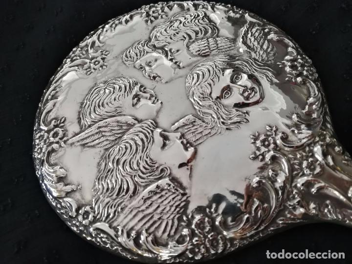 Antigüedades: Espectacular Juego de tocador - Plata inglesa contrastada exquisitamente labrada - Foto 2 - 93603230