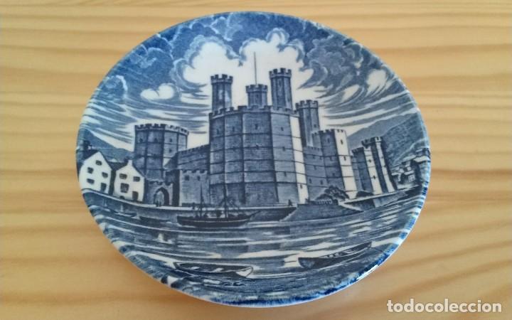 PLATITO PORCELANA INGLESA ENOCH WEDGWOOD (Antigüedades - Porcelanas y Cerámicas - Inglesa, Bristol y Otros)