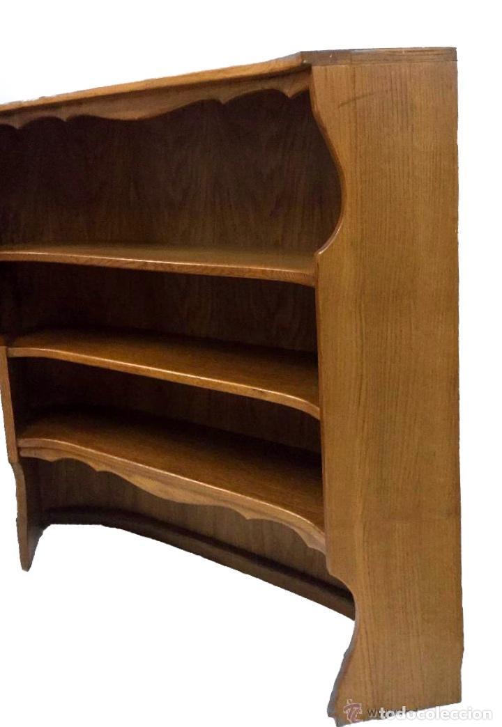Antigüedades: antigua librería, estantería.Modernista.Capacidad, encanto - Foto 2 - 50669671